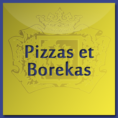 Pizza and Borekas