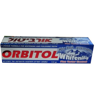 ORBITOL ALPINE FRESH TOOTH PASTE WHITING