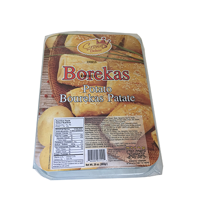 POTATO BOREKAS CROWN