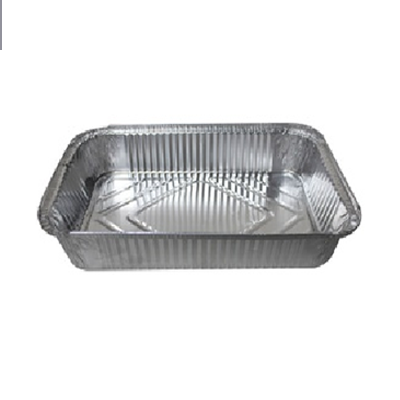 ALUMINIUM TRAYS 2 L + COVER X5