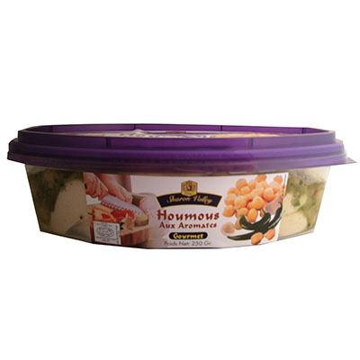 HOUMOUS WITH GOURMET SPICES SV