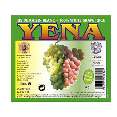 WHITE GRAPE JUICE YENA
